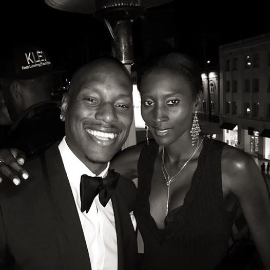Our #CEO Khadija and @tyrese ! — with Khadija Donatelli Neumann, Model and Tyrese Gibson.
