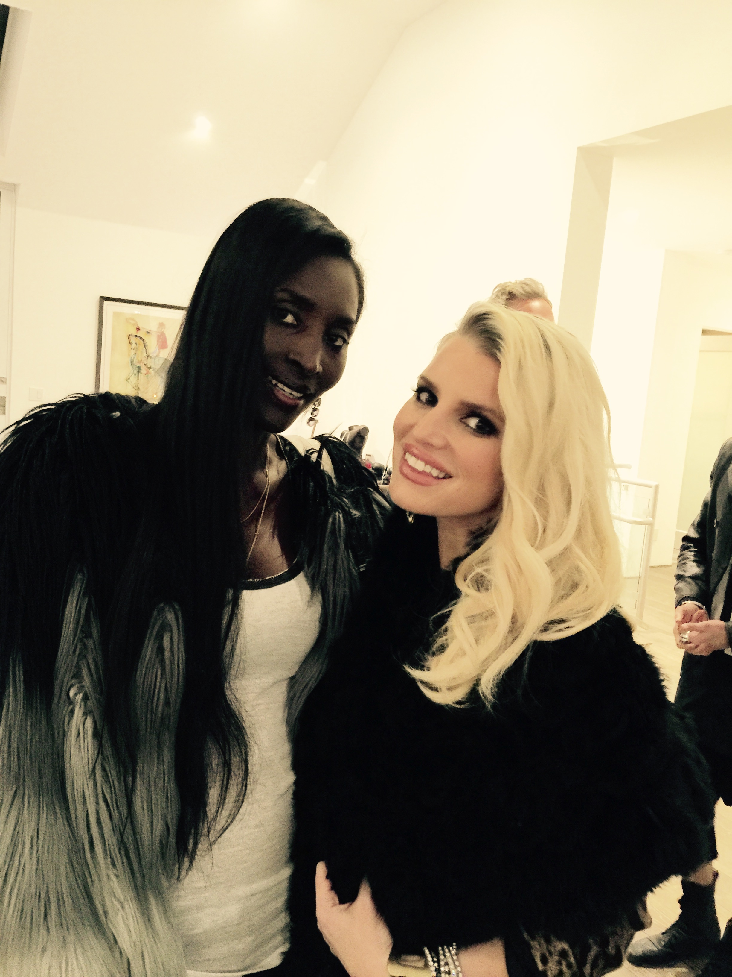 Our #CEO Khadija Neumann with Jessica Simpson !!!!